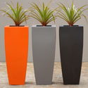 A Range Steel and 3CR12 planters