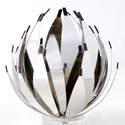 Decorative stainless steel aloes
