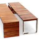 Obbligato flat timber benches