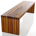 Obbligato Upper East Side timber bench