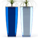 A Range perspex planters