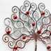 Stainless steel decorative wall tree