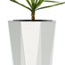 Obbligato Octave stainless steel planters