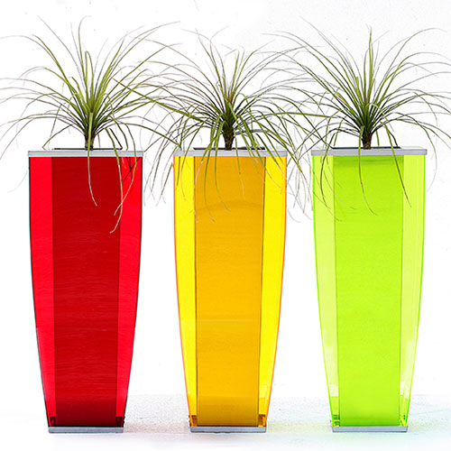 Perspex planters - A Range